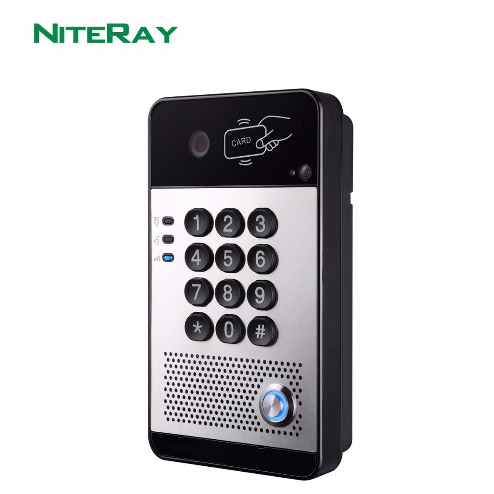 IP65 IP Video Door Phone Doorbell Intercom System Compatible With Standard SIP(RFC3261) Protocol And Main IPPBX/IMS Platform