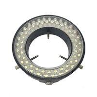 Yellow Light 60 Led Lamps Stereo Biological Zoom Microscope Ring Lamp 110V 240V