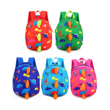Очень прочный и удобный школьный рюкзак с милым динозавром, детский рюкзак с ремнем безопасности для малышей, Детская сумка с защитой от потери