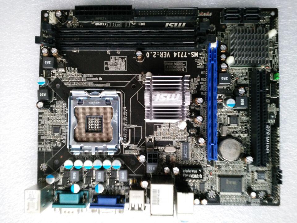 For MSI G41M S26 Original Used Desktop Motherboard For Intel G41 Socket LGA font b 775