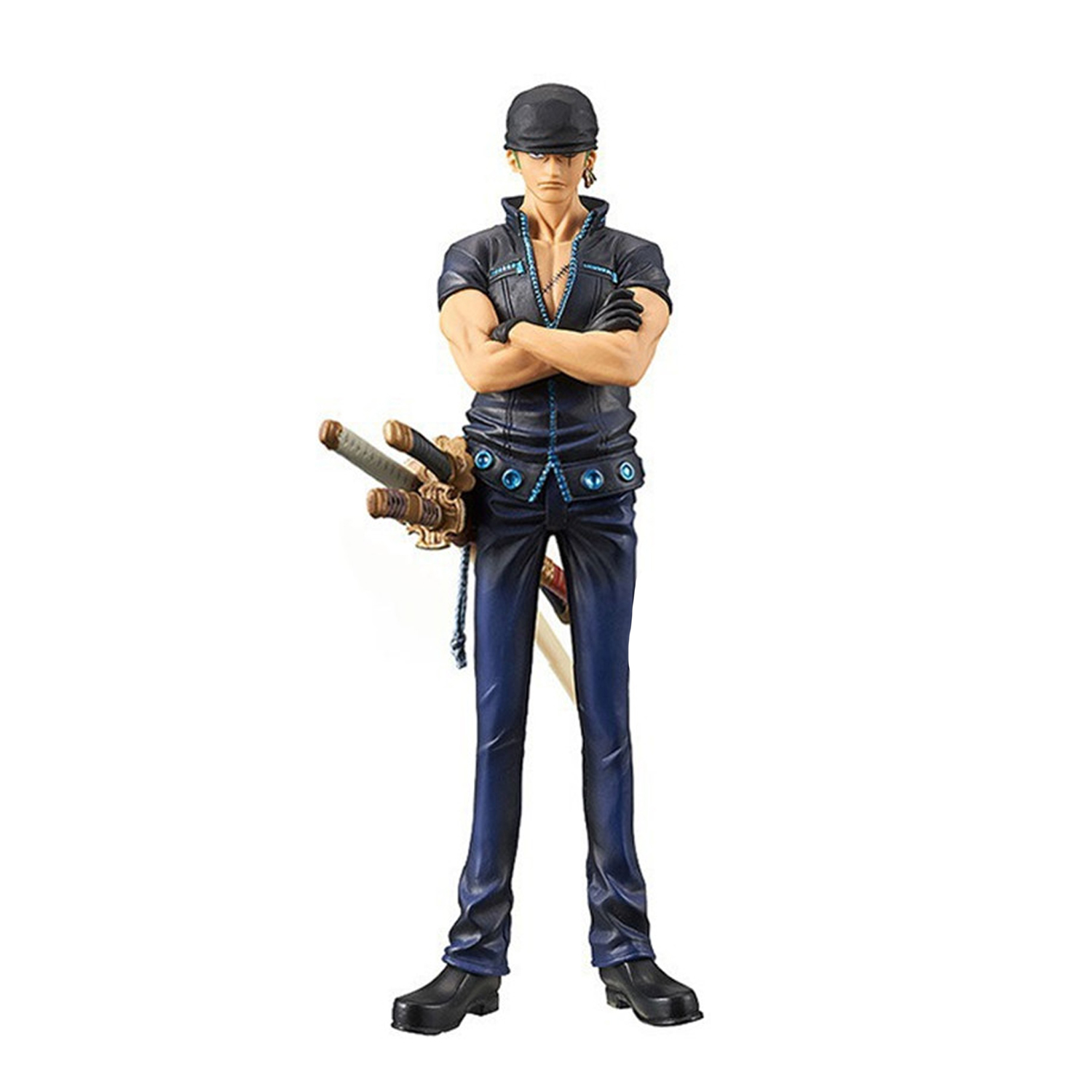 Chanycore Anime ONE PIECE DXF GOLD City Later New World Zoro 16cm Action Figures PVC onepiece toys doll model collection