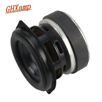 GHXAMP 30W 3 inch Full Range BASS Speaker Unit Long-Stroke Portable LoudSpeaker Aluminum Basin Rubber 3OHM 1PCS