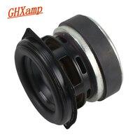 GHXAMP 30W 3 inch Full Range BASS Speaker Unit Long Stroke Portable LoudSpeaker Aluminum Basin Rubber 3OHM 1PCS