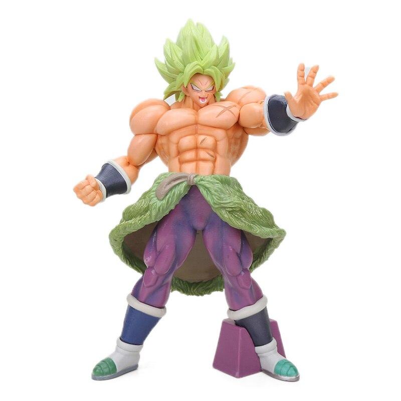 Manga Dragon Ball Z Vegeta Goku Gohan Broly Trunks Action Figures 34cm 7