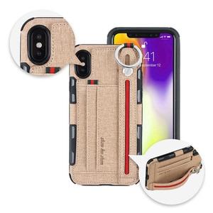 Image 1 - כבד החובה הגנת טלפון מקרה עבור iphone xs max xr 8 7 6 5 6S בתוספת אנטי שריטה ארנק caseCard כיס אצבע טבעת כיסוי
