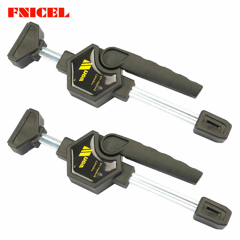 2Pcs/set Woodworking Fast Clip Wood Working Clamp Fixture Desktop Clip Auxiliary Tool
