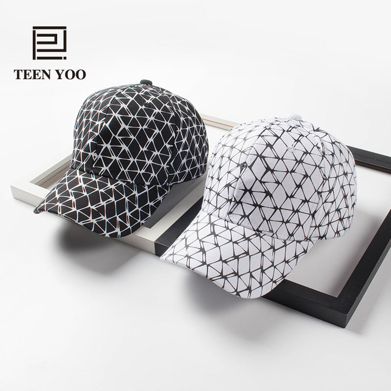 High Quality Fashion Baseball Caps Polyester Cotton Printed Plaid Casual Street Snapback For Lovers Outdoor Sport Summer Sun Hat