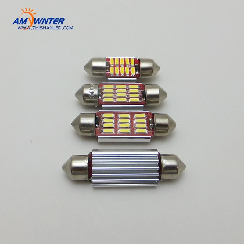 12V C5W Canbus LED-billäsningslampor Auto Nummerplåtlampor ledchip - Bilbelysning - Foto 3