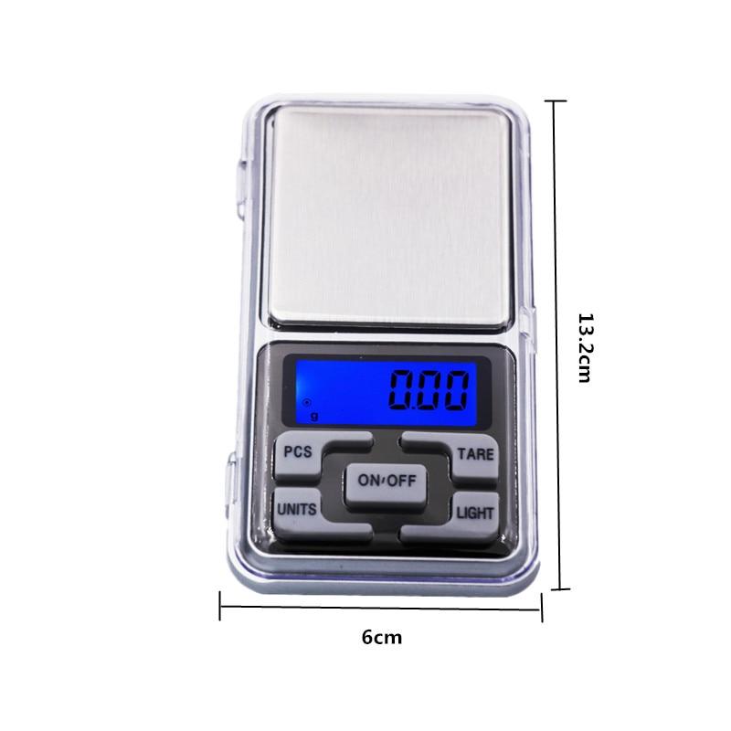 Cena fabryczna Nowość 500g / 0,01 g Mini elektroniczna biżuteria - Przyrządy pomiarowe - Zdjęcie 2