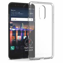 For LG Q7/Q7+/Q7 Plus  Case Slim Clear Transparent Soft TPU Silicone Ultra Thin Rubber Mobile Phone Protective Skin Shell