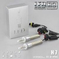 YUMSEEN H7 Super Bright 9600lm Xenon White 6000K Car LED Headlight Conversion Lamp Kit XHP 50
