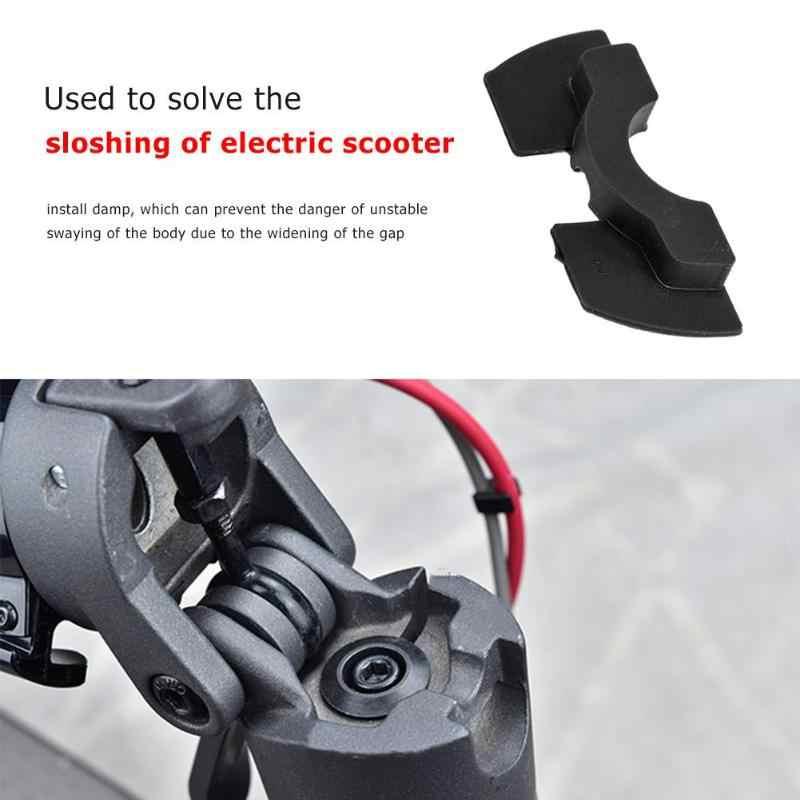 M365 Scooter Elettrico Shake Riduttori di Forcella Anteriore Vibrazione Scuotere Pad in Gomma Pole Evitare di Smorzamento Cuscino Pieghevole Modificato Accessori