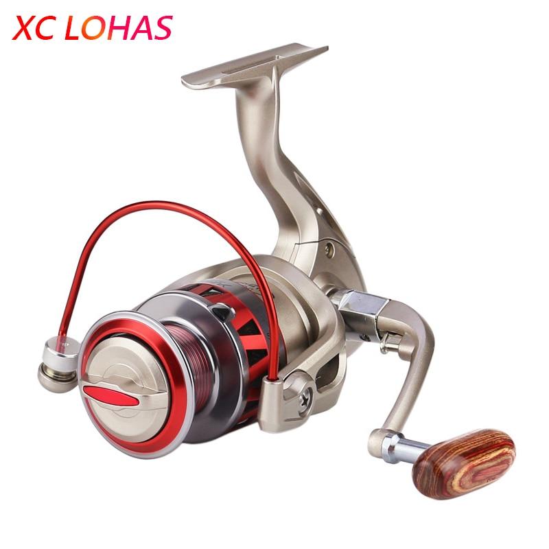 Super Strength Aluminium Alloy Metal Head & Arm Spinning Fishing Reel 10BB Anti-reverse Fishing Line Wheel Sea Fishing Tackle