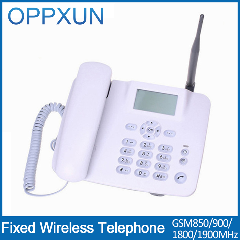 Telefone GSM telephone Cordless phone telefone sem fio telefono inalambrico home telephone with SIMcard slot for