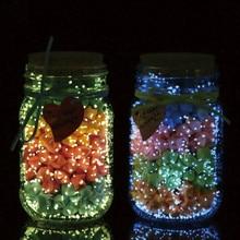 10 г Светящиеся вечерние DIY яркие краски игрушки светится в темноте звезда Желая бутылка флуоресцентные Частицы Игрушки