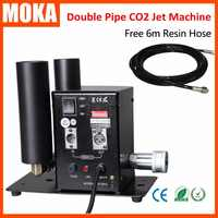 Double Pipe Stage CO2 Machine Switchable DMX Control CO2 Column Jet 6Meter Gas Hose CO2 Device Jet