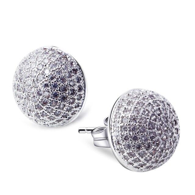 Love Deluxe Earrings-Classic earrings luxury wedding celebrity famous brand jewelry Bridal earrings Free postage