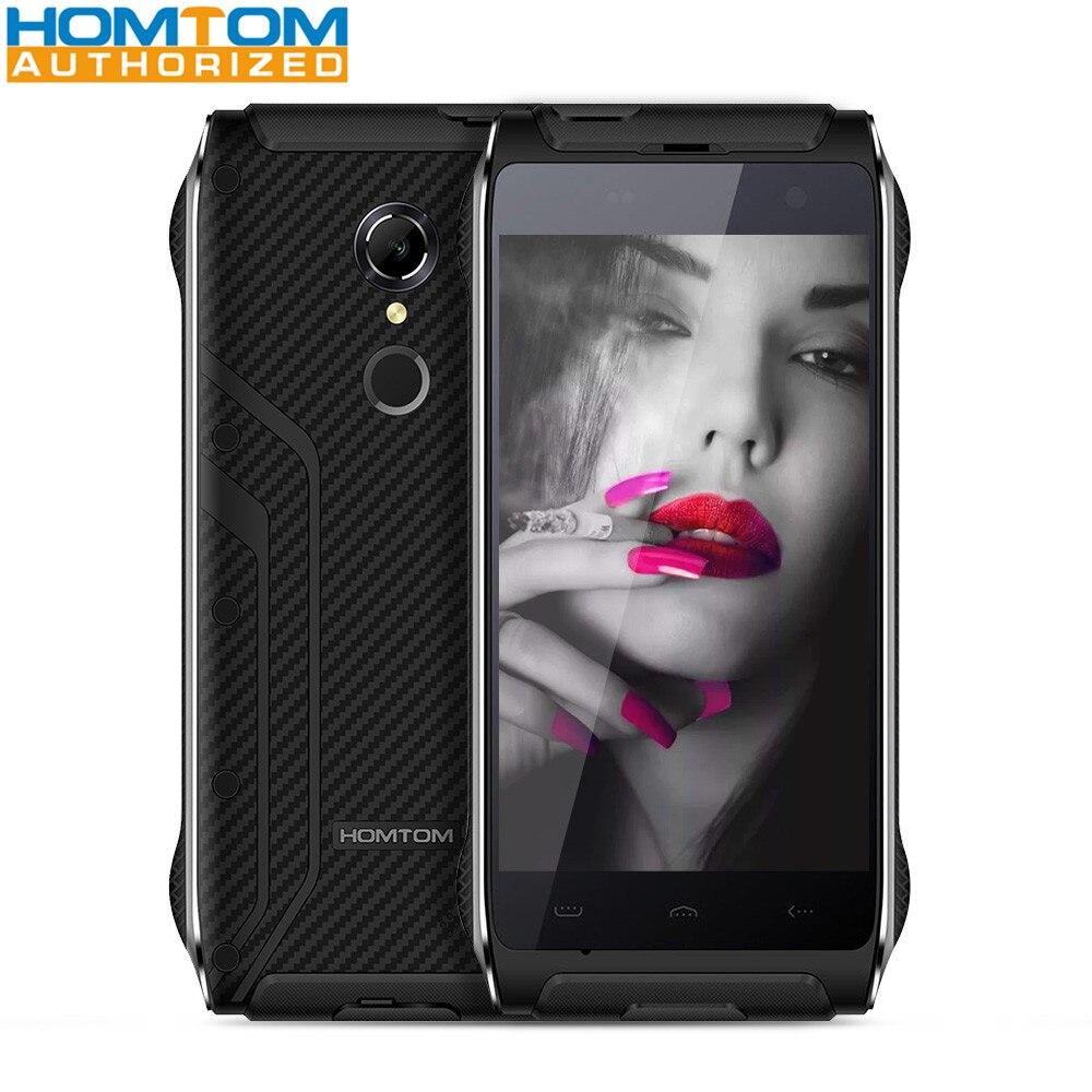 Homtom HT20 IP68 4 7 inch 4G Smartphone MTK6737 Quad Core 2GB RAM 16GB ROM Fingerprint