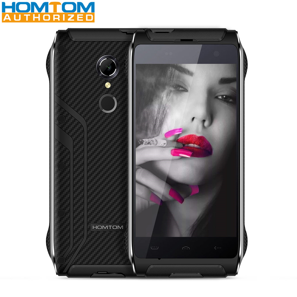 bilder für Homtom HT20 IP68 4,7 zoll 4G Smartphone MTK6737 Quad Core 2 GB RAM 16 GB ROM Fingerabdruck-scanner Wasserdicht 3500 mAH Handy