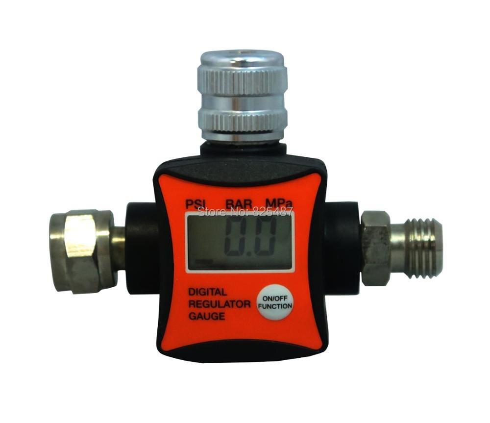LEMATEC New Design Digital Air Pressure Regulator Flow Regulator Air Pressure Gauge CE 1 4 air