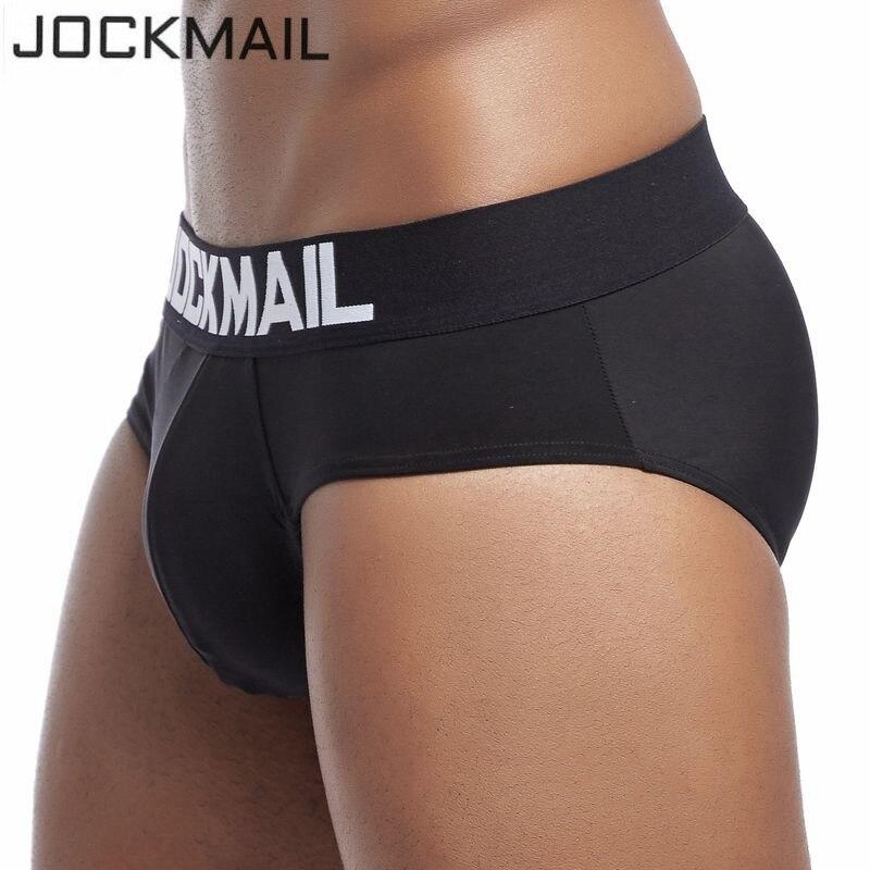 JOCKMAIL Brand Men Underwear Sexy Mens Briefs Ice Silk Cool Male Panties Cueca Gay Underwear Penis Calzoncillos Hombre Slip