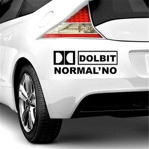 Image 4 - Trois Ratels TZ 022 9.08*25cm 1 5 pièces DOLBIT NORMALNO voiture autocollant voiture autocollants