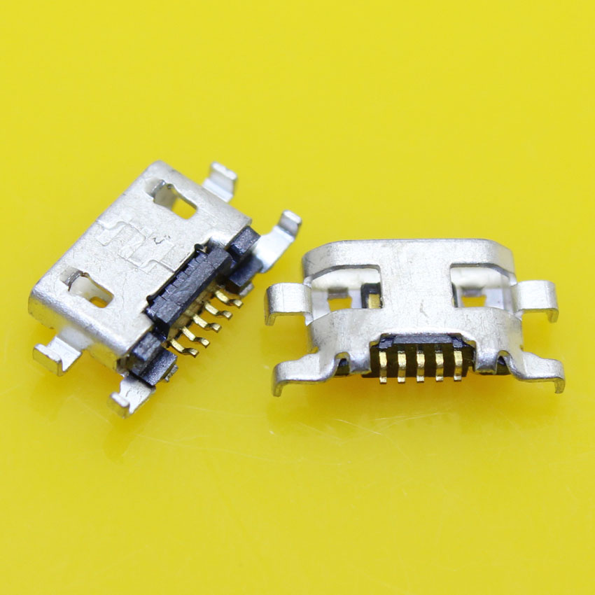 cltgxdd Micro <font><b>USB</b></font> Jack 5P Female Socket connector 5 Pin phone <font><b>charging</b></font> <font><b>port</b></font> for <font><b>Nokia</b></font> <font><b>lumia</b></font> <font><b>625</b></font> 1320 image
