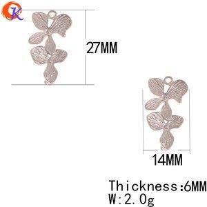 Image 3 - Сердечный дизайн 100 шт 14*27 мм ювелирные аксессуары/серьги соединители/форма цветка/Сделай сам/ручная работа/ювелирные изделия фурнитура компонент
