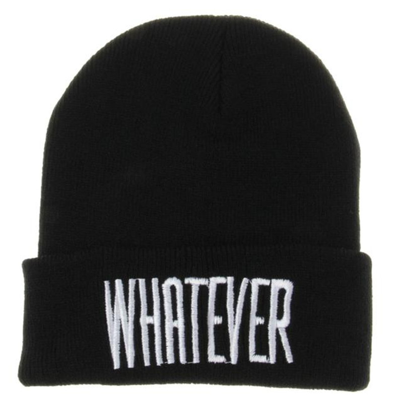 snowshine #5003  Feitong New Fashion Winter Black Winter Whatever Hiphop Beanie Hat And Snapback Men And Women Knitted Cap shocking show 2016 new design winter black whatever beanie hat and snapback men and women cap