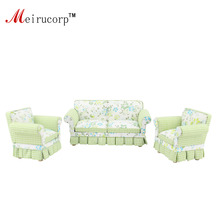 miniature furniture patterns. dollhouse 112 scale miniature furniture petal pattern fabric art 2 chairs and sofa set patterns a