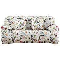 KWIAT Poliester Kanapa Pokrywa Cloth Art Elastan Drukowane Stretch Narzuty Segmentowe Sofa Obejmuje dla Domu/biura/hotelu Dekoracji