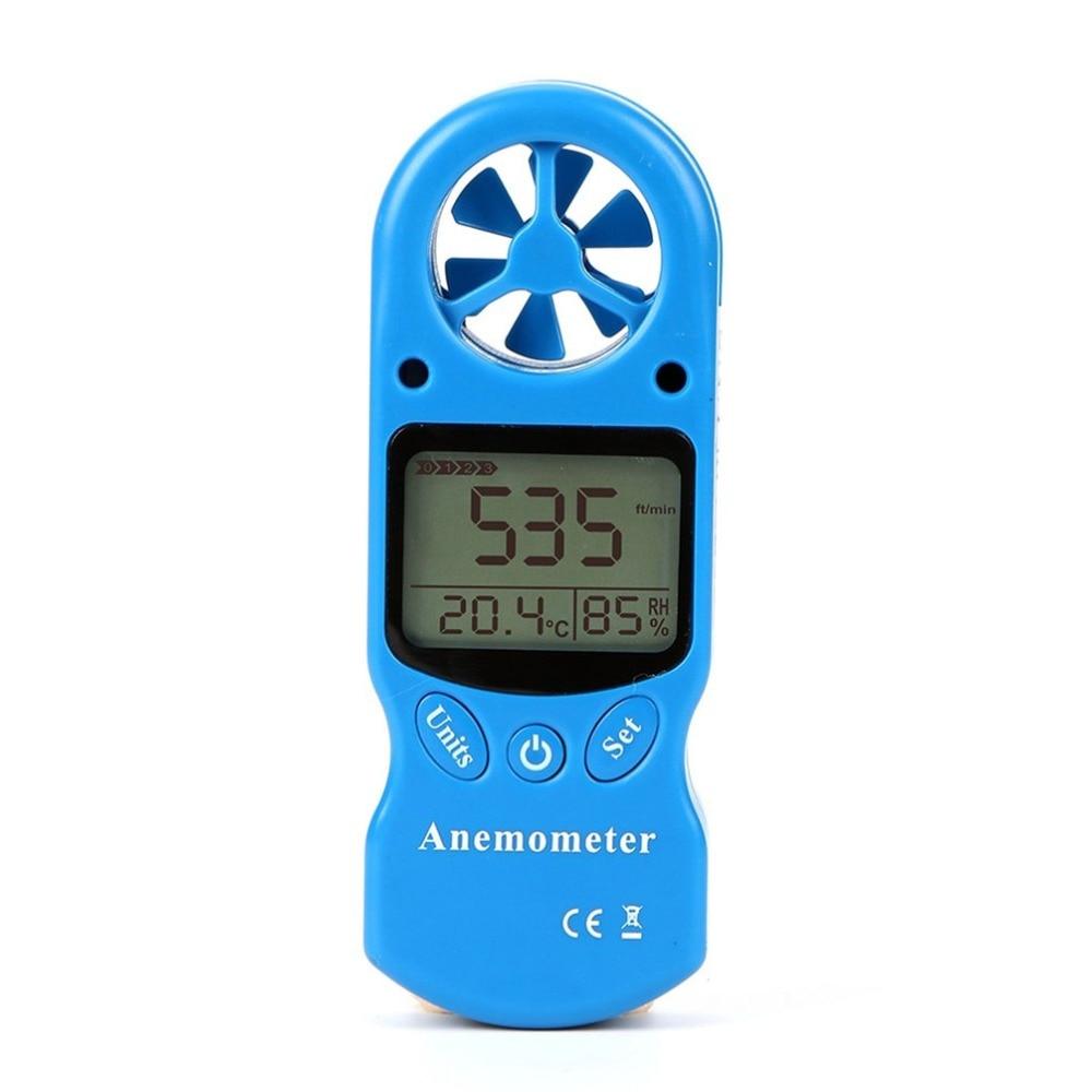 Mini Multipurpose Digital Anemometer with LCD Display Used as Wind Speed Meter 14