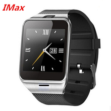 Freies dhl großhandel heißer verkauf gv18 aplus smart watch telefon nfc kamera pedometer smartwatch 450 mah für android armbanduhr telefon