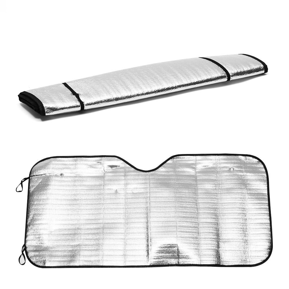 1Pcs New Foldable Car Windshield Visor Cover Block Front Rear Window Sunshade Protect Car Window Film Sunscreen Wholesale