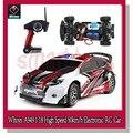 Wltoys A949 1:18 2.4 GHz 4WD Rali de Alta Qualidade Velocidade 45 km/h Eletrônico RC Carro Azul Vermelho