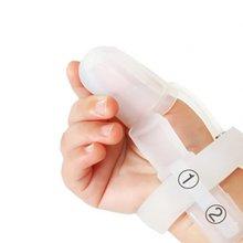 Kit de traitement de garde de doigt d'arrêt de pouce de mamelon de bébé de Silicone Non toxique pour arrêter la Correction de morsure de succion de pouce