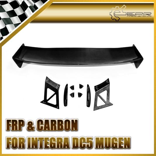 Car styling For Honda Integra RSX DC5 Carbon Fiber Mugen Style Trunk Spoiler Rear GT Wing
