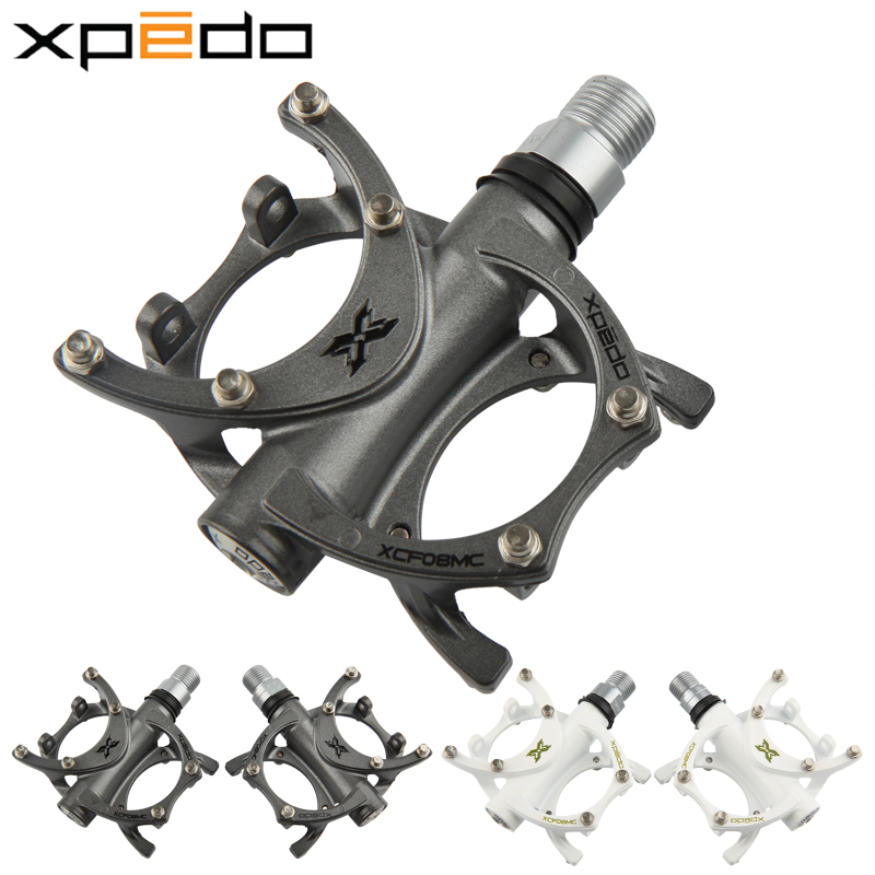 Ultralight Wellgo Xpedo XCF08MC Bicycle Pedal Cycling Road MTB Pedals Magnesium Alloy bearing pedals