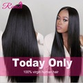 Brazilian Straight Hair With Frontal Closure Ear To Ear Lace Frontal Closure With Bundles 8A Brazilian Virgin Hair With Closure