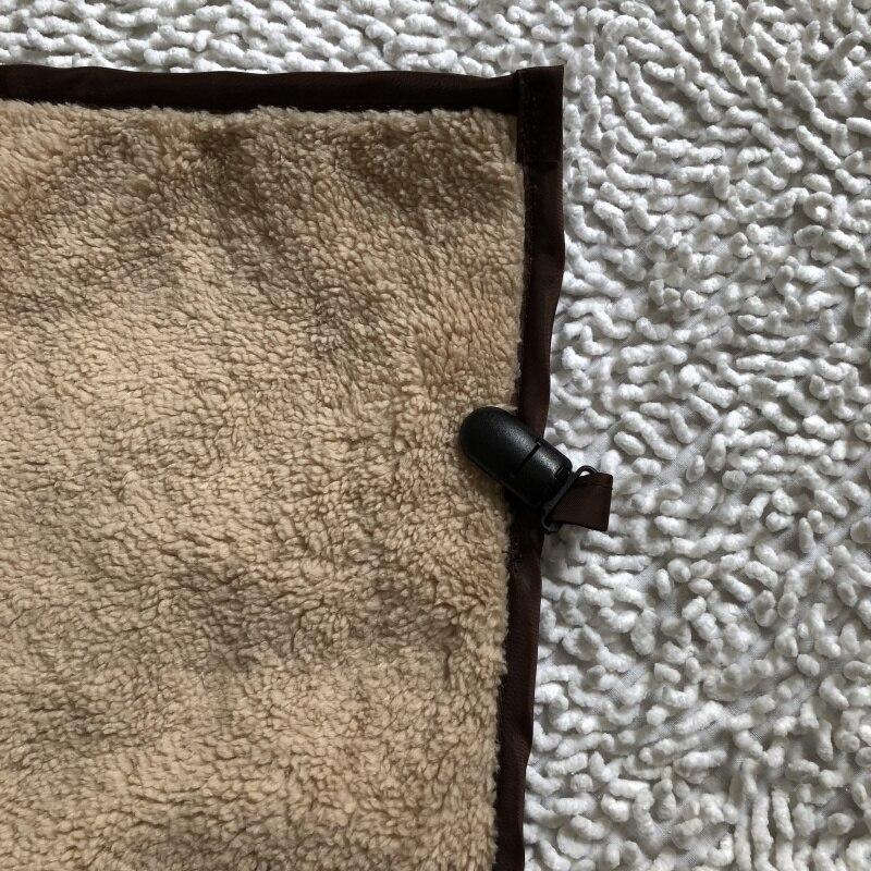 Детская коляска кофейное одеяло ветрозащитное и коричневое водонепроницаемые одеяла внутри теплое шерстяное одеяло Универсальное Детское Одеяло