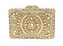 Luxus diamant kristall abendtasche damen handtasche SC121