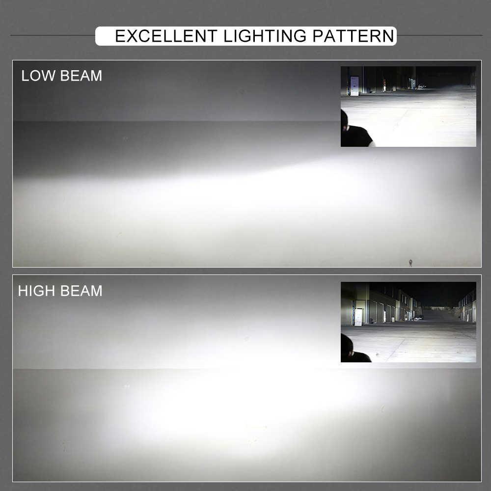 BraveWay H4 Led HeadLight Car HeadLamp Led H7 H11 9005 9006 Bulbs for Motocycle Lada Vesta