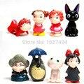 Studio Ghibli A Viagem de Chihiro Totoro Hayao Miyazaki Ponyo Hime Mononoke Kodama Anime Figuras de Ação PVC Figuras Dolls Kids Brinquedos