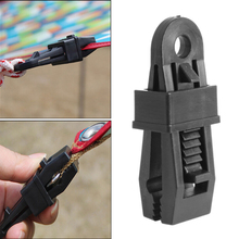 Tents Wind Rope Clamp Awnings Clip Outdoor Camping Plastic Clip Tents Accessories