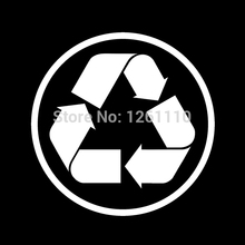 RECYCLING Reflective Vinyl Decal Sticker Wheelie bin Recycle Public Safety OH&S Factory Workshop