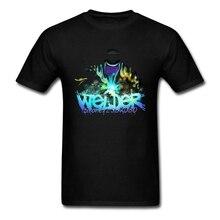 Welders футболка с коротким рукавом на заказ Мужская футболка в стиле хип-хоп Camiseta Masculina XXXL с круглым вырезом хлопковые мужские футболки