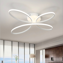 Modern Creative Led Lustre Acrylic Aluminum Chandeliers For living Room Bedroom New Chandelier Dimmable Fixtures