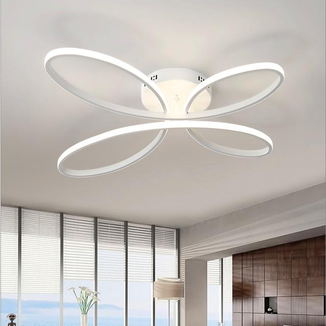 Moderno Creativo Led Lustre Lampadari In Alluminio Acrilico Per ...