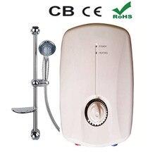 Кран водонагреватель 3500 Вт быстрого проточные электрический Tankless индукция Ванная комната Душ Отопление Кухня Раковина Нажмите Бесплатная доставка