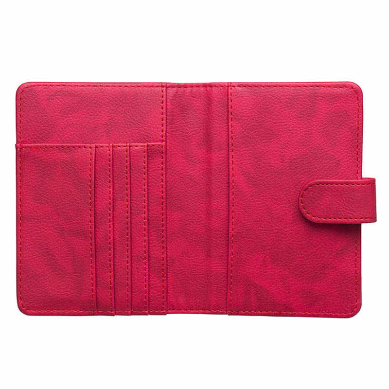 KUDIAN الدب غطاء جواز سفر حافظة الحد الأدنى محفظة سفر للوثيقة حامل بطاقة الائتمان Rifid بورت كارت BIH091 PM49
